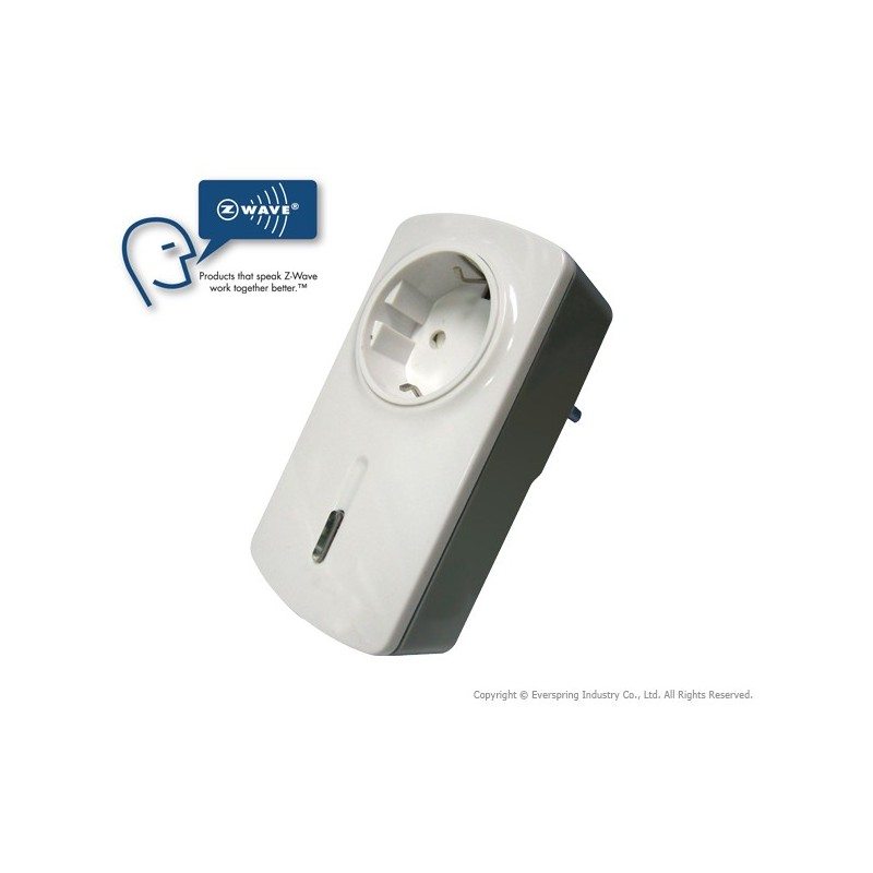 Wall Outlet Switch With Energy Measurement Everspring