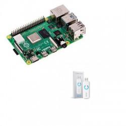 Raspberry Pi 4 - Raspberry Pi 4 de 4gb Aeotec ZW090-C Z-Wave Más