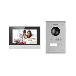 Hikvision DS-KIS703-P - Portier vidéo 2 fils IP
