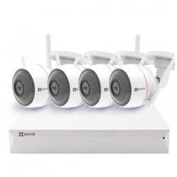 Ezviz CS-BW2824-B1E10 - Kit vidéo WIFI 4 caméras