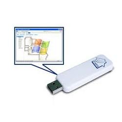 Z-WAVE.ME controlador USB z-wave + software Z-FORMA