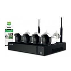 Comelit WIKIT004S02NB - Pack vidéosurveillance wifi 2MP