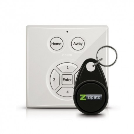 Zipato código en el teclado y RFID Z-Wave
