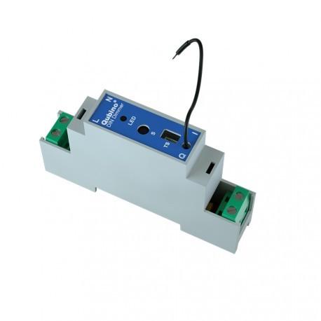 Qubino ZMNHSD1 - Unidad de Z-wave Plus en riel DIN