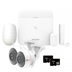 Pack video surveillance DAHUA IP 2 Megapixel 4 dome cameras