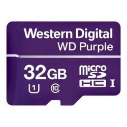 WD Purple Micro SD - Carte mémoire flash 32GO