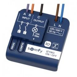 Somfy receptor DE encendido / APAGADO IZYMO IO