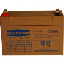 Eleckson - Battery 4V 3.5 Ah TRAY V0