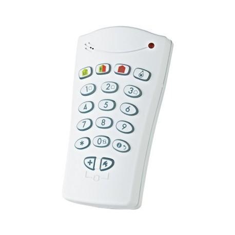 Teclado KP-141-PG2 - Visonic teclado lector de placas de identificación de alarma PowerMaster