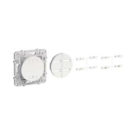 SCHNEIDER - Transmisores de radio multi-función 2 o 4 botones ODACE-Antracita