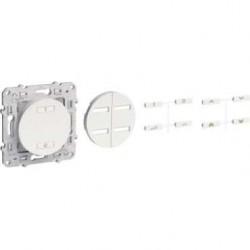 Conmutador de radio inalámbrica de 2 o 4 botones de accionamiento de velocidad variable SCHNEIDER Blanco ODACE