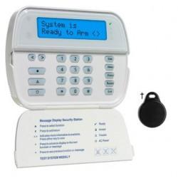 Tastiera radio schermo LCD lettore di badge DSC WT5500P