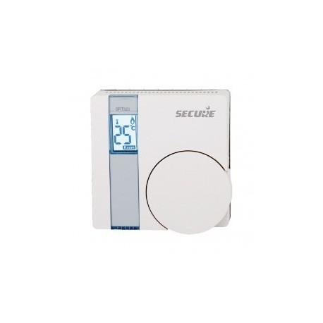 SECURE - Thermostat SRT323 mit LCD-anzeige Z-WAVE-und relay