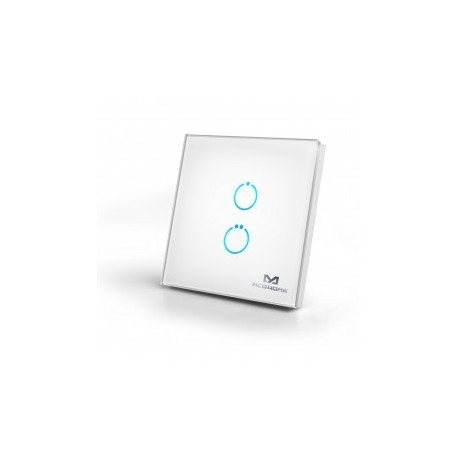 MCOHome - Switch glass touch 2-button Z-WAVE
